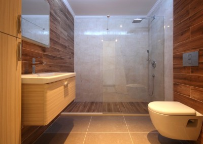 Modern Bathroom and Shower Cabin